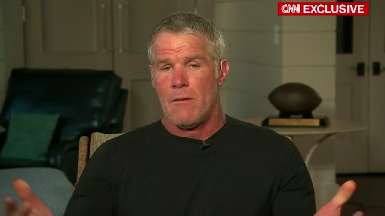 Former NFL quarterback Brett Favre says the only way to make football safer is to not play it