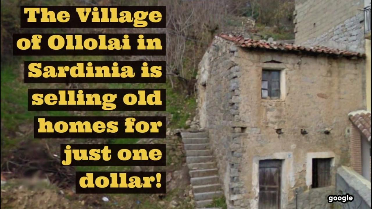 A village in Sardinia is selling homes for just one dollar