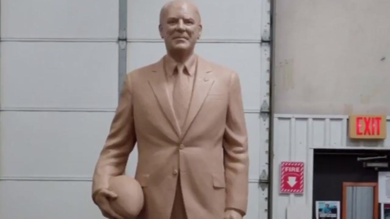 Officials shelve plans for Bob McNair statue