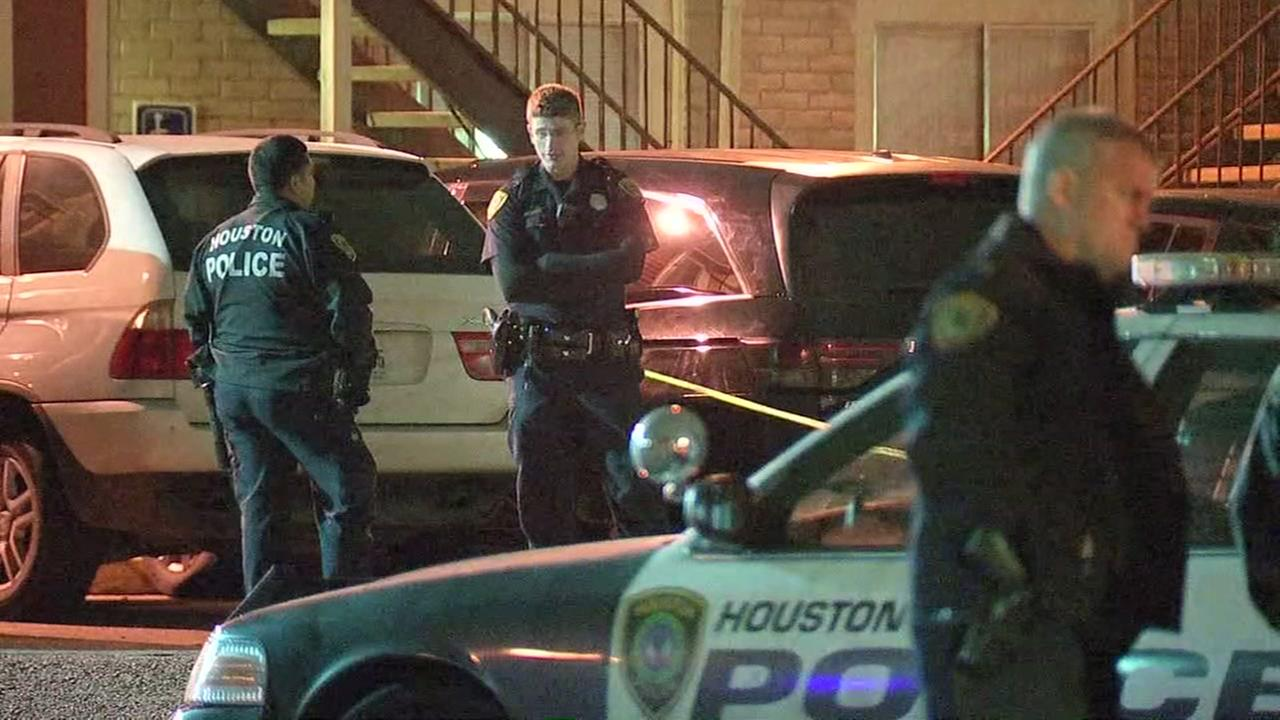 Officer fires weapon during domestic disturbance at apartment