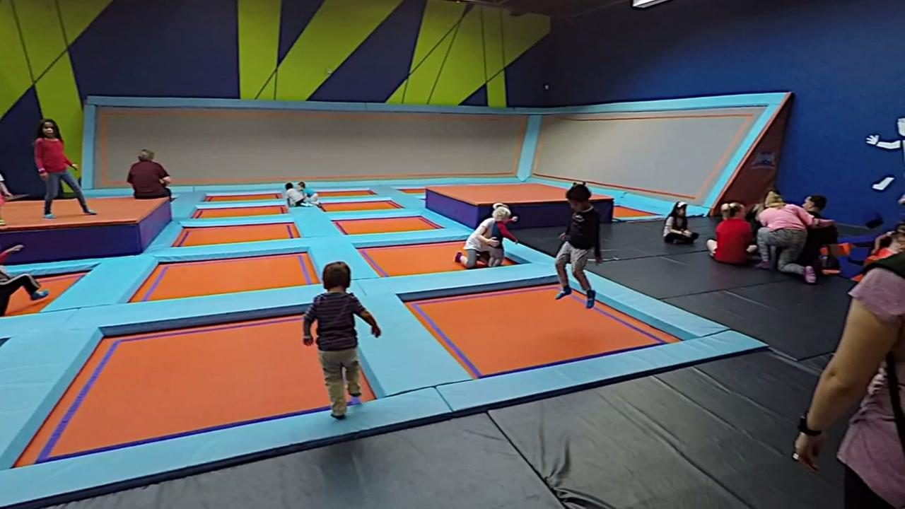 Inside look at largest trampoline park in U.S.A.