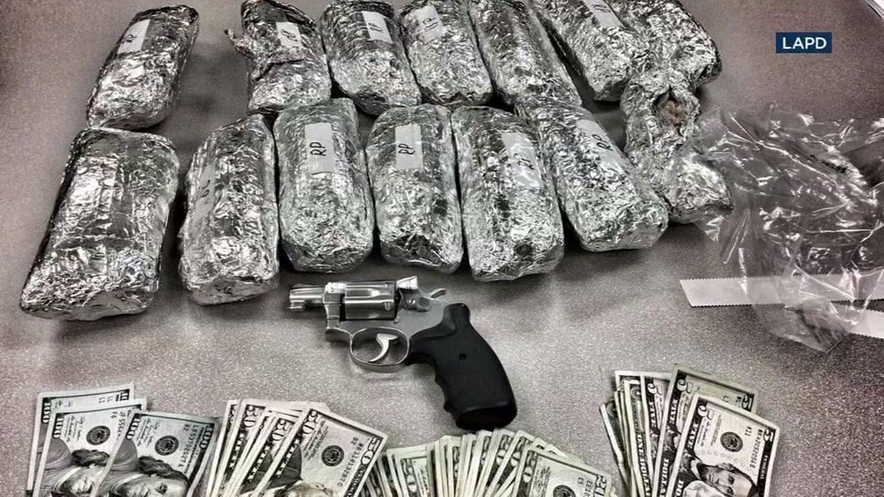 Officers seize meth burritos from driver