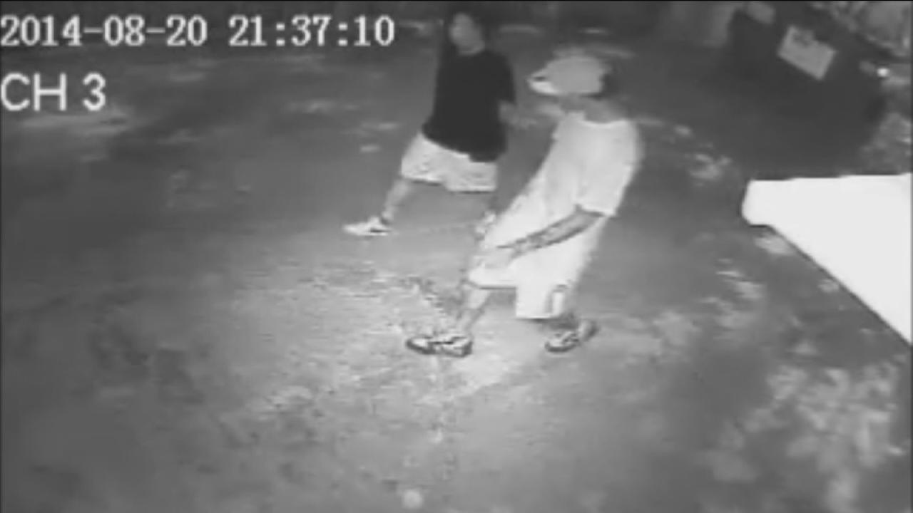 Surveilllance video from deadly restaurant robbery