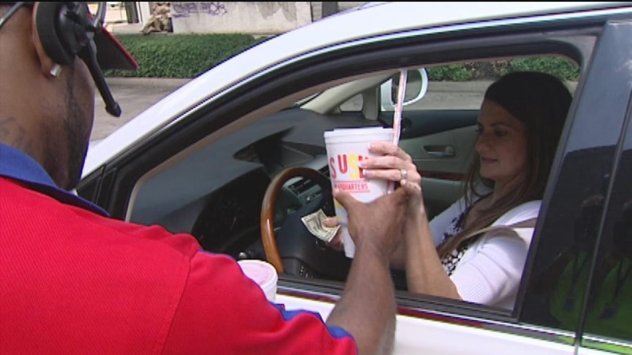Free Sonic slush after Texans slush