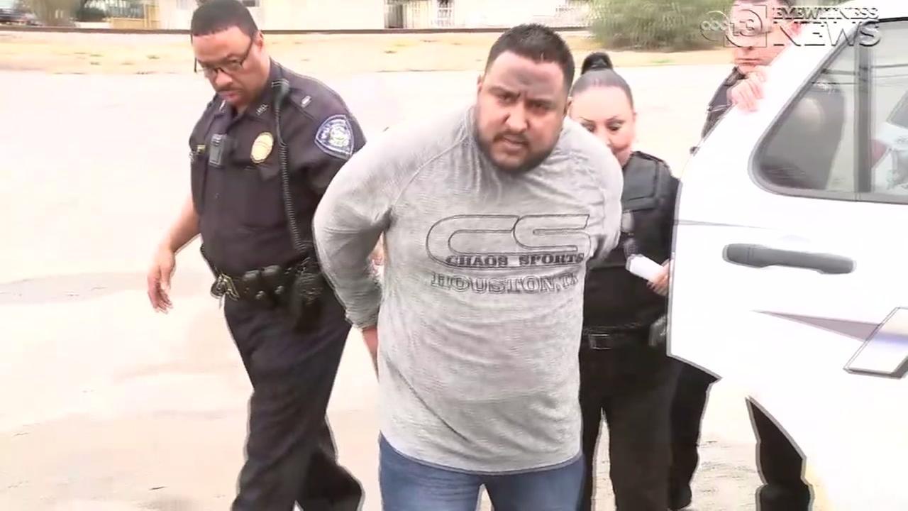 Ex-Jacinto City Little League president in handcuffs