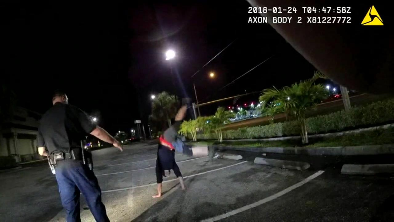 Suspected drunk driver does cartwheels in McDonalds parking lot