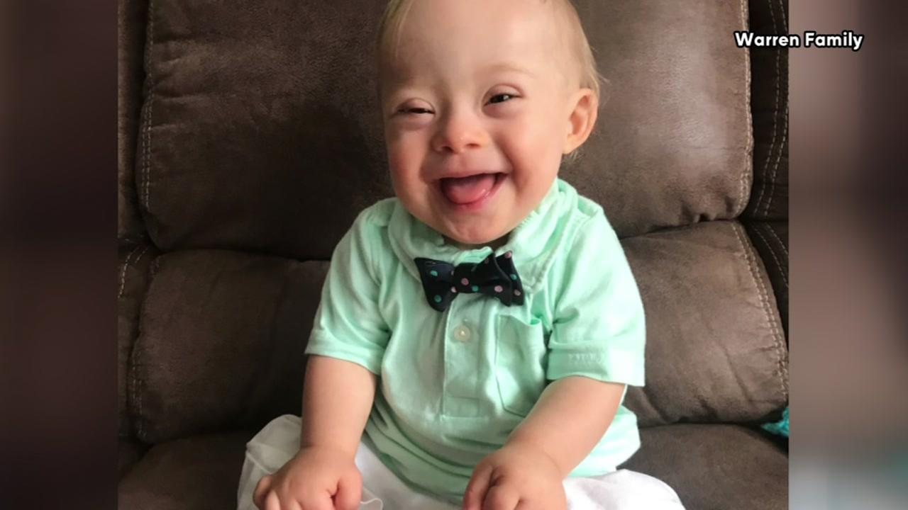 Lucas Warren, the first baby with Down syndrome to be named Gerbers spokesbaby