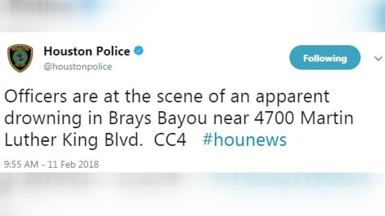 Police investigate body found in Brays Bayou