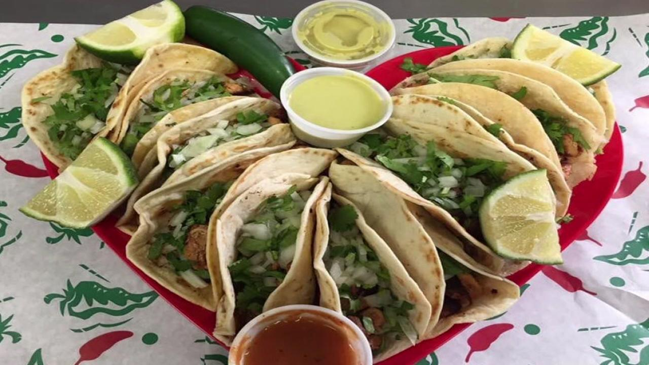 Tacos for Valentines Day
