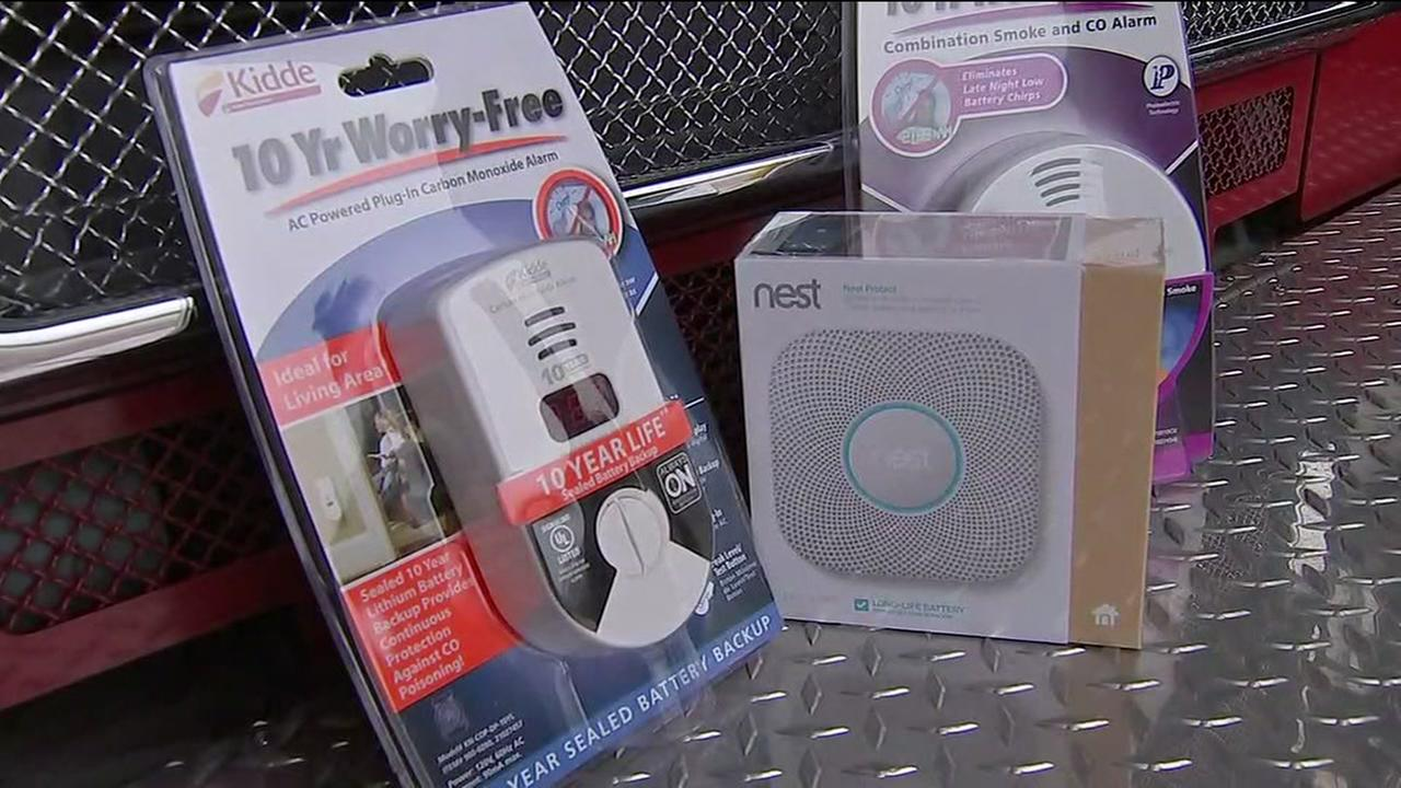 Firefighters break down devices needed after carbon monoxide deaths