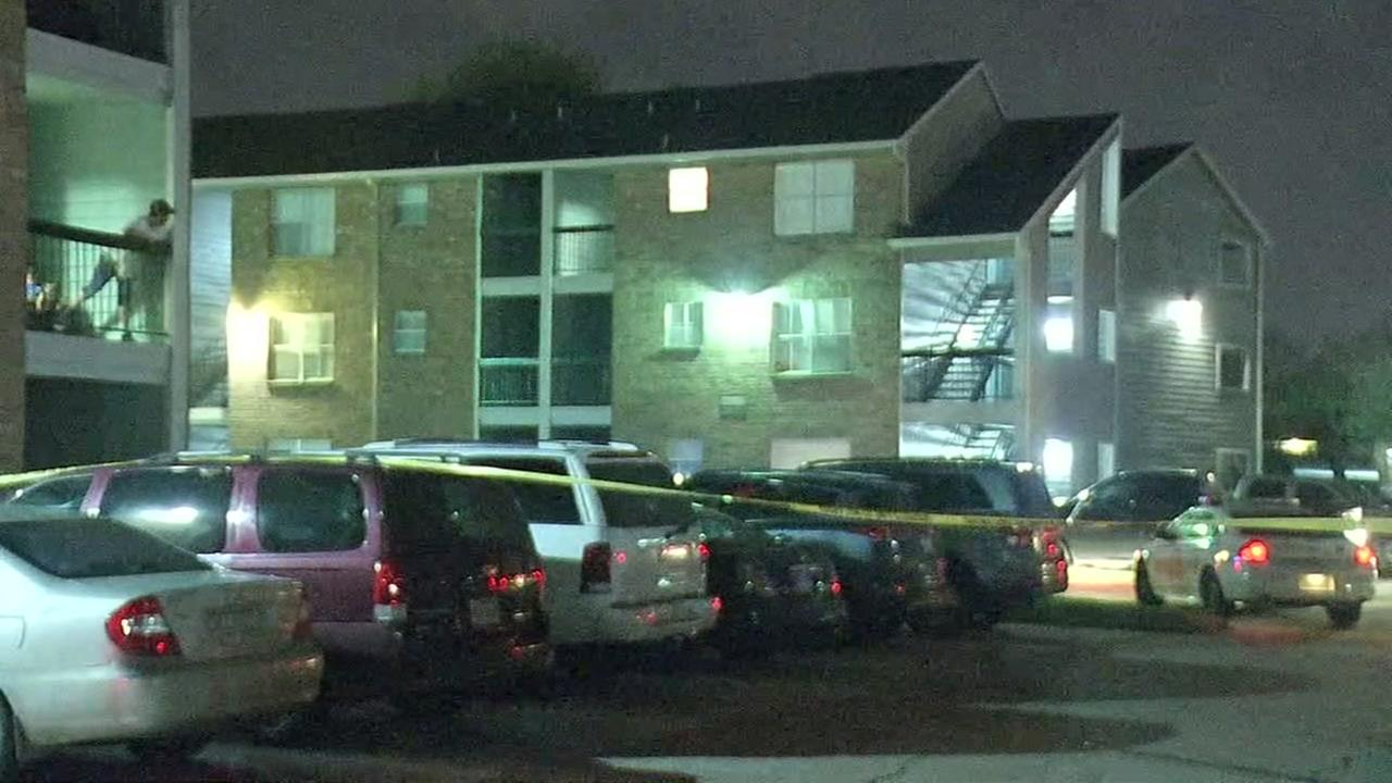 Families duck for cover during deadly gunfire at NW Harris Co. apartment