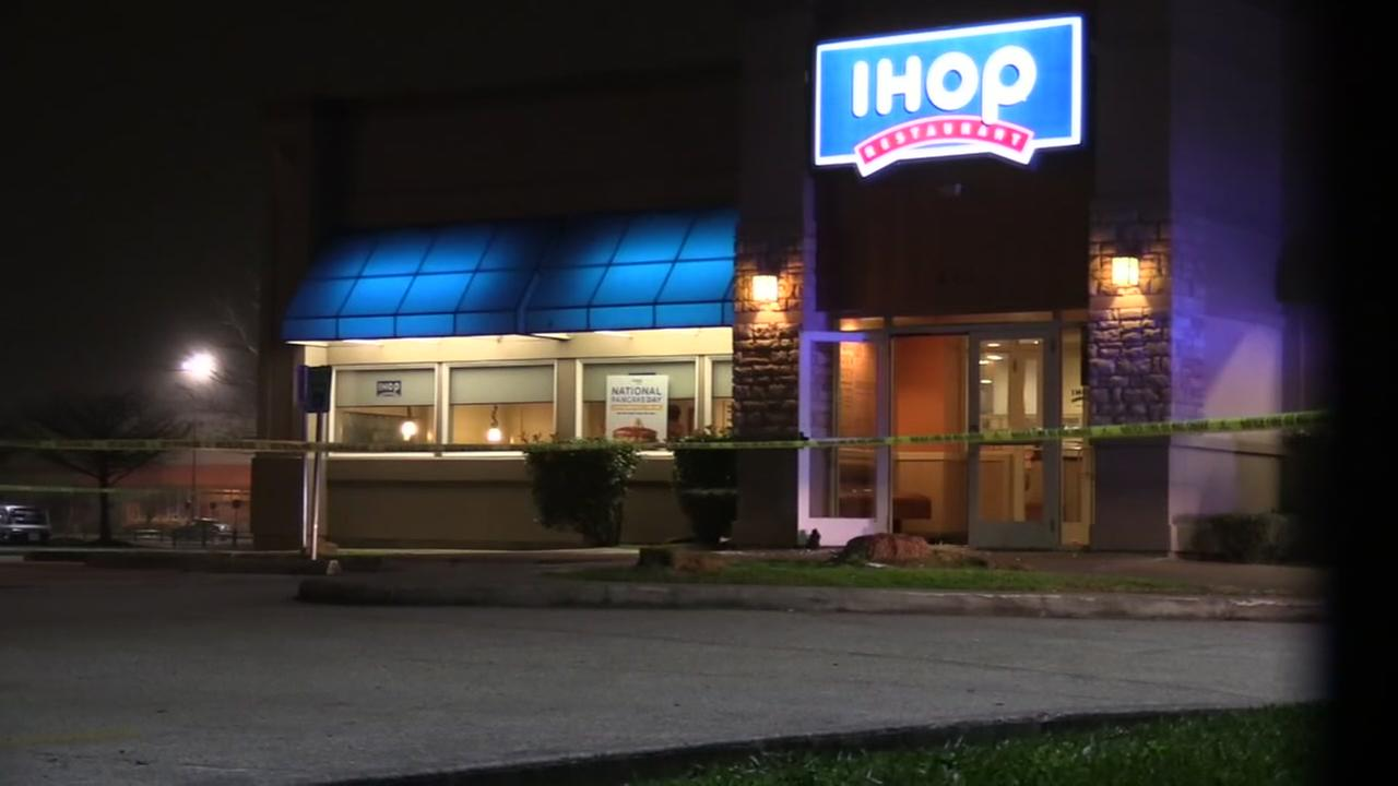 Suspect in custody after violent IHOP shooting