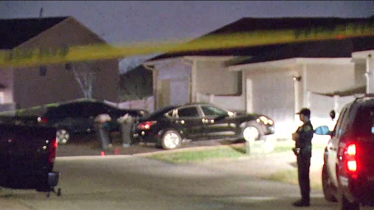 Drive-by shooting in SW Houston
