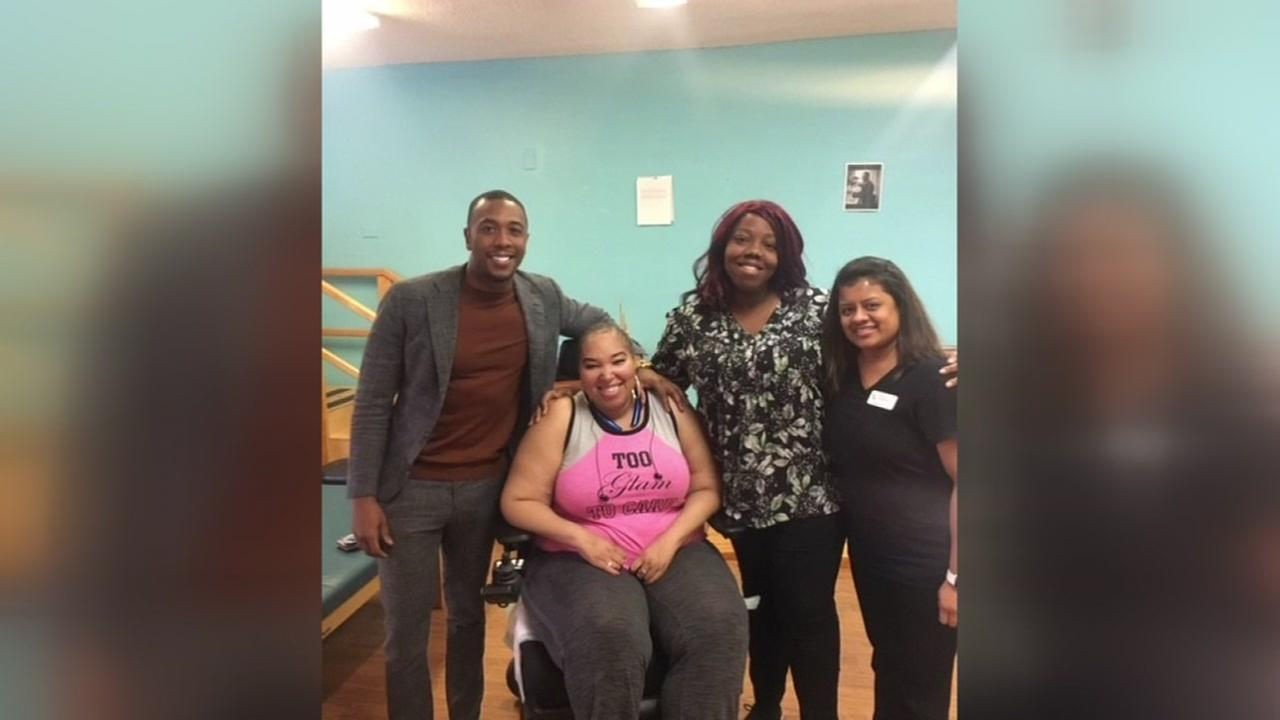 ABC13 fan and cancer survivor gets surprise visit from Chauncy Glover