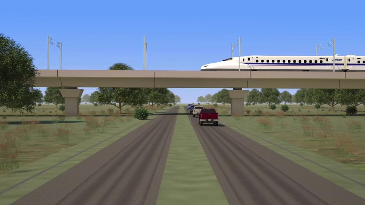Exactly where will the Texas Bullet Trains route go?