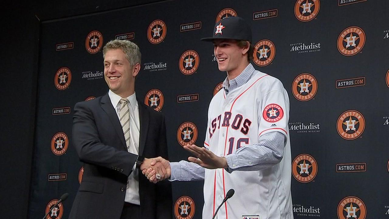 Astros pitching prospect suspended