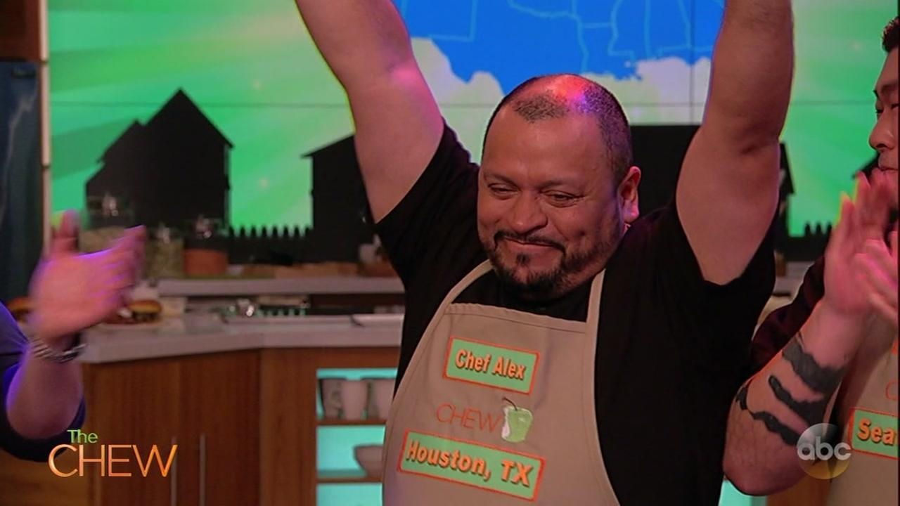 Houston chef advances to final round of contest on The Chew
