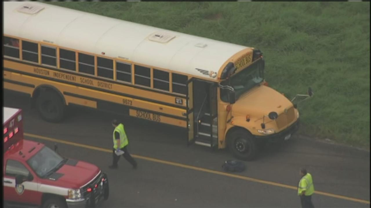 School bus accident on Highway 288