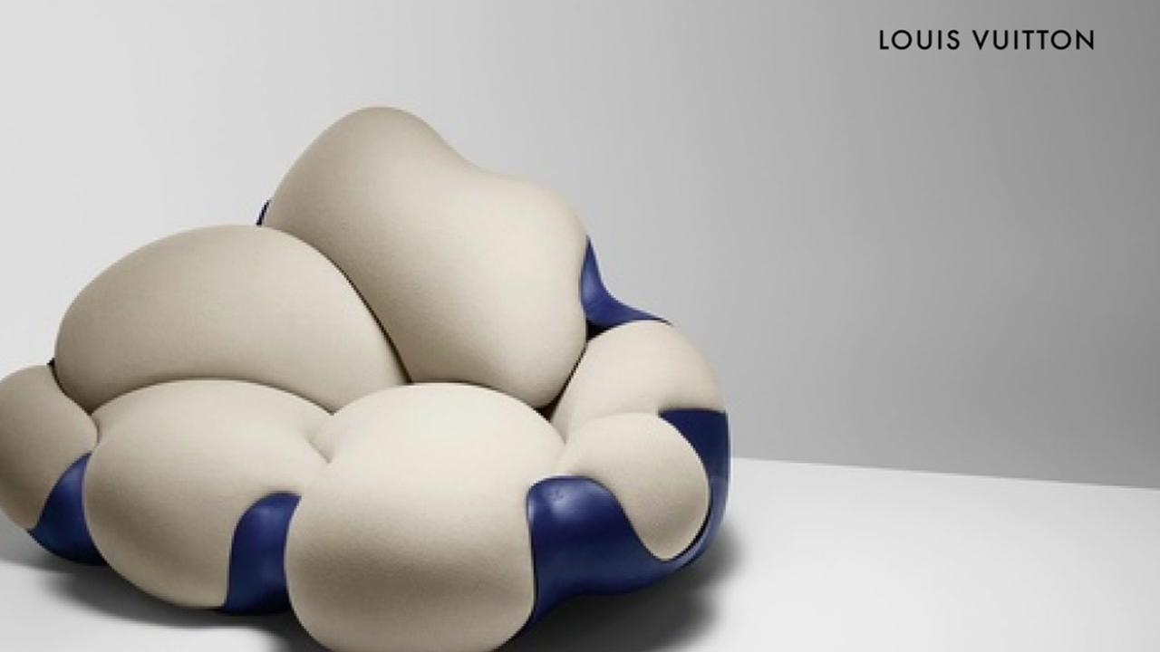 Is it furniture or art, or both? Check out the Louis Vuitton exhibit at the Galleria