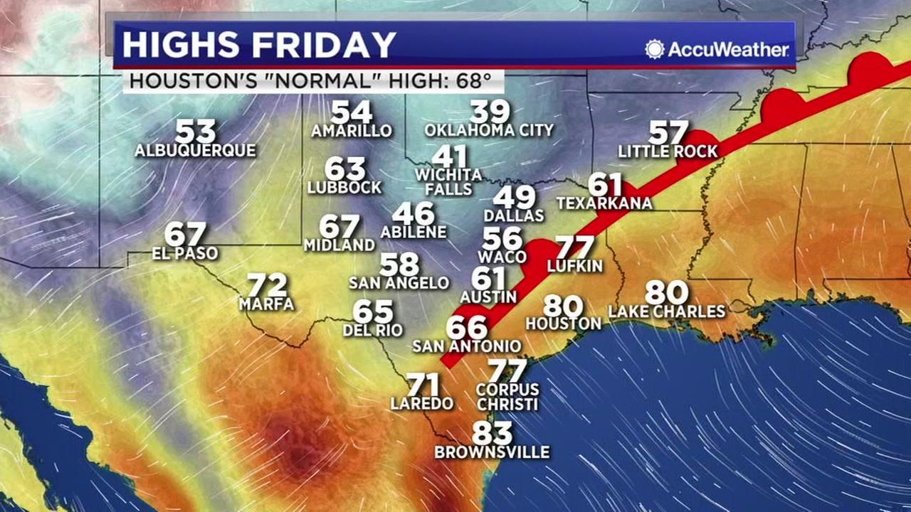 Meteorologist Travis Herzogs Friday forecast