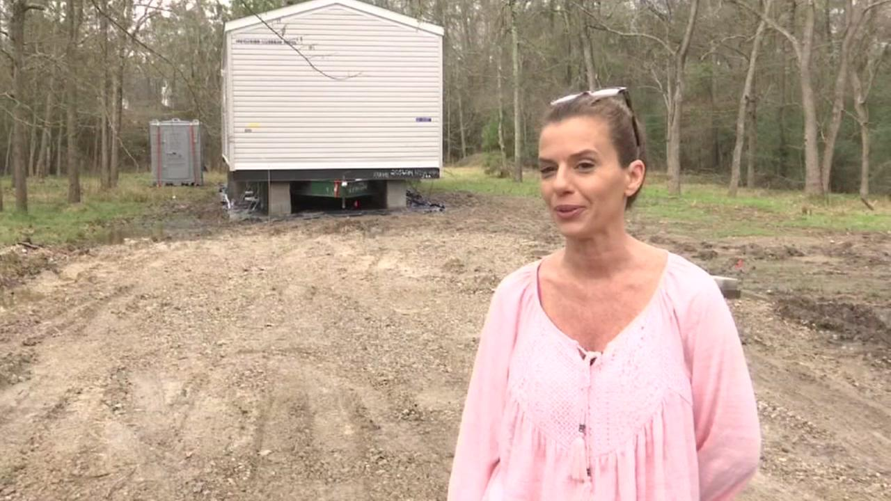 First FEMA trailers arrive in Houston 6 months after Harvey