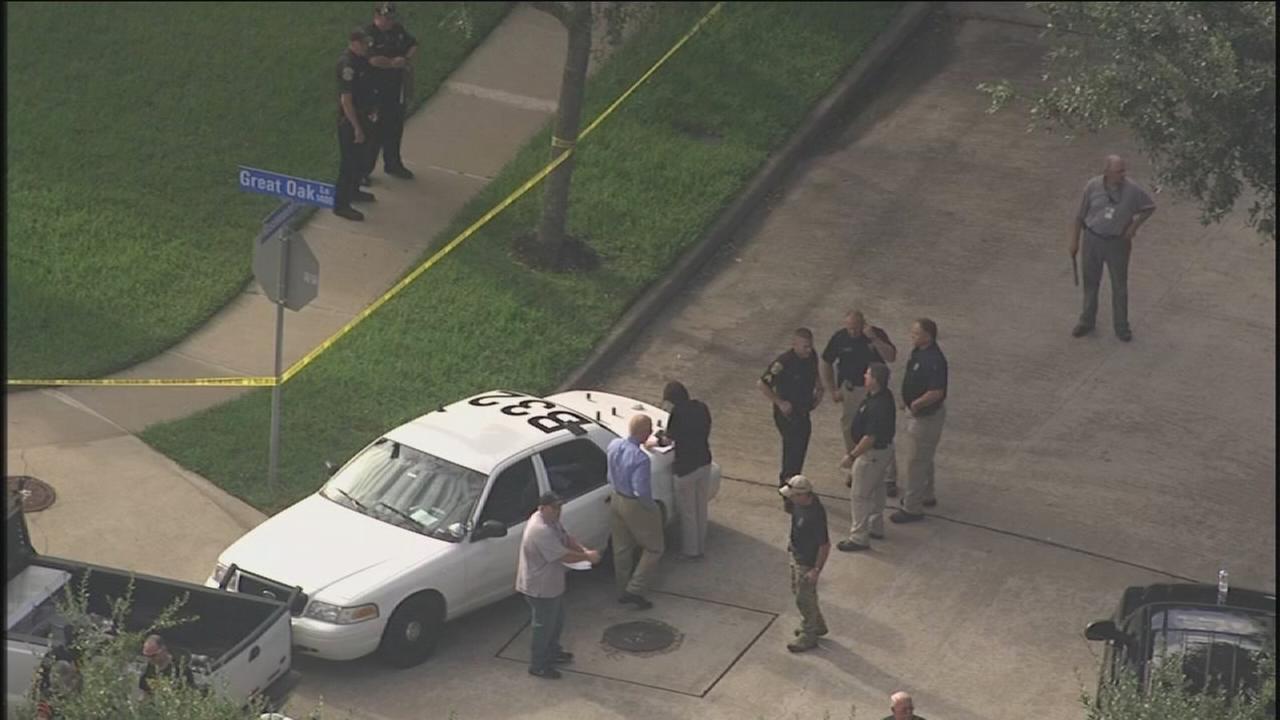 Law enforcement shoot man while serving warrant