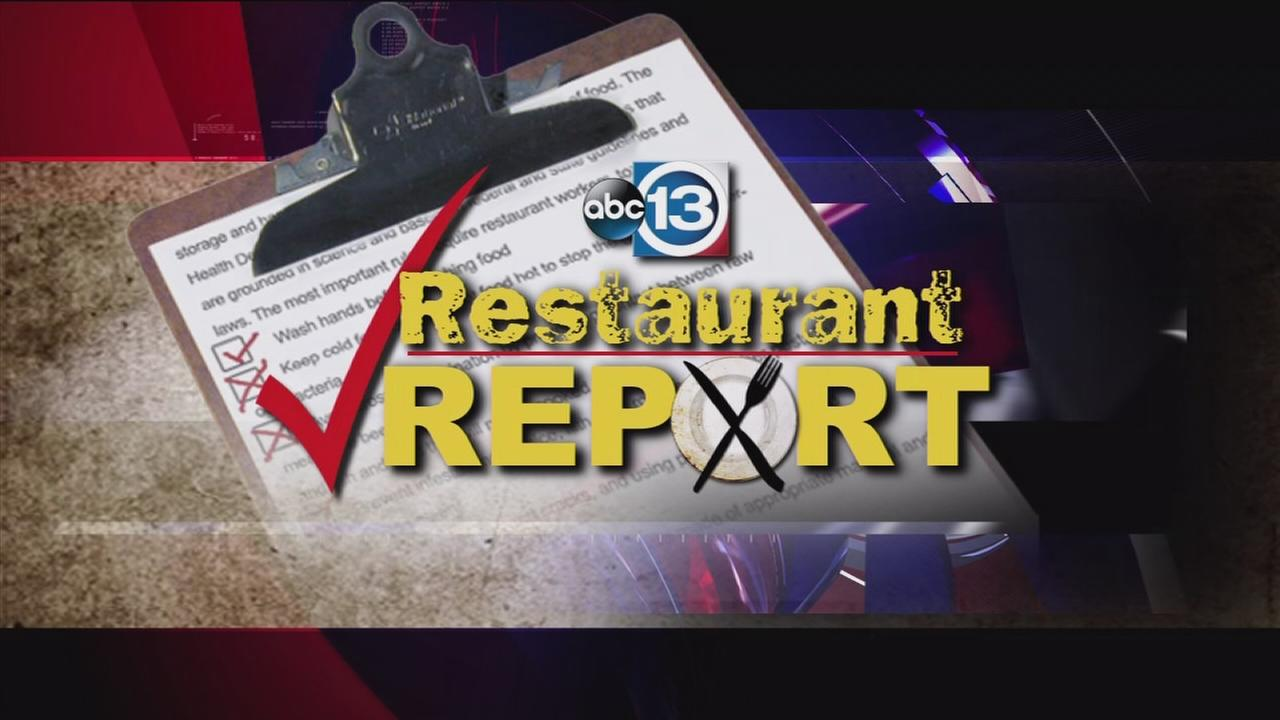 Houston restaurant report as of September 17
