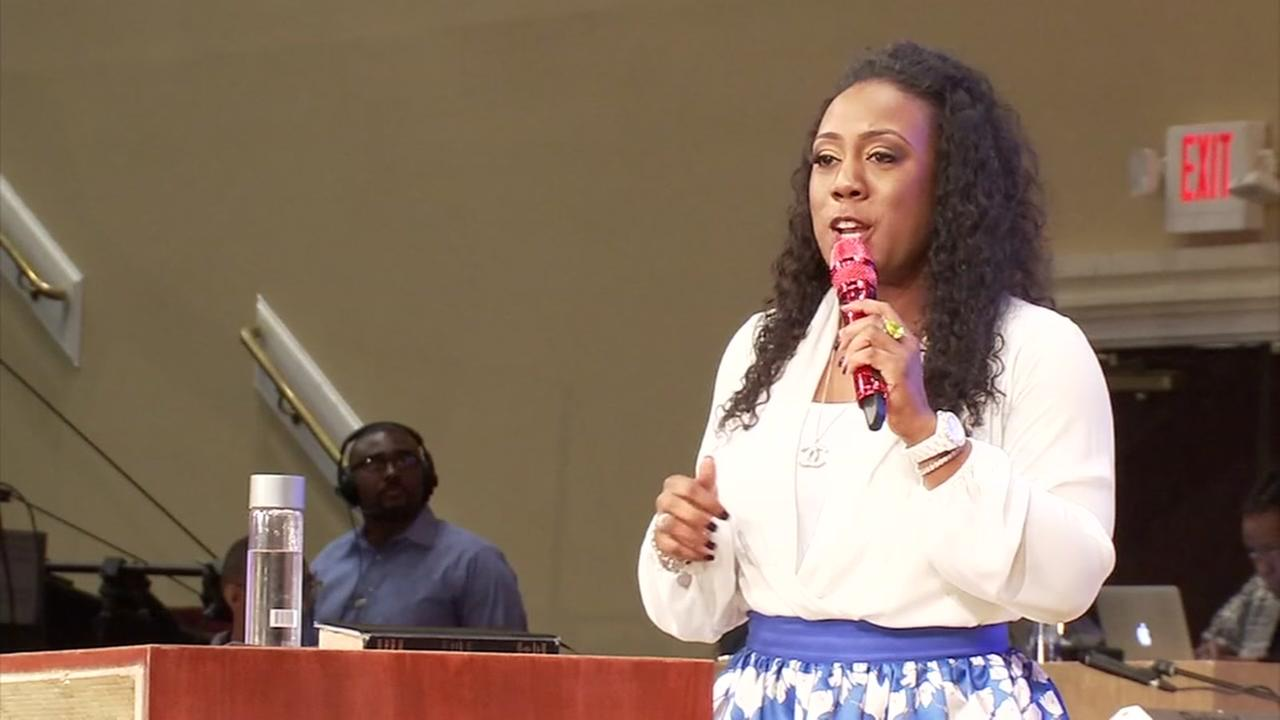 First black female pastor of megachurch