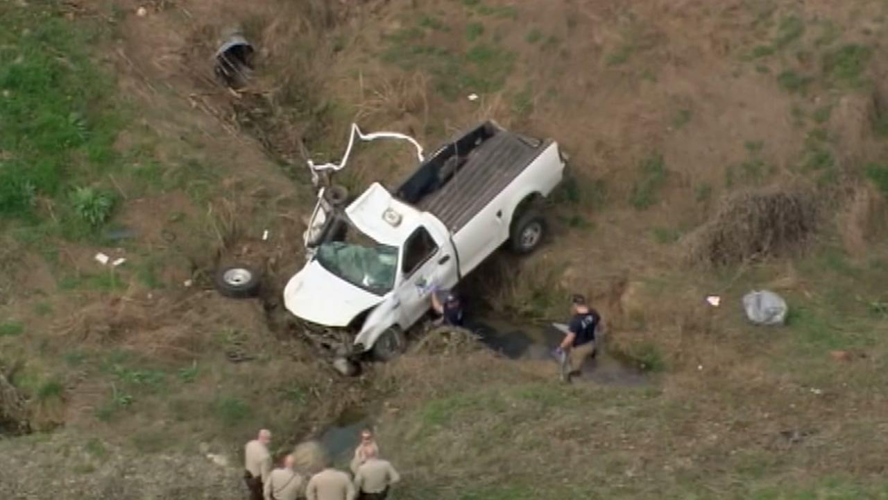 Escaped inmate dies after stealing truck