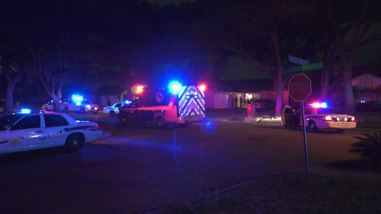 Deputies: Man beaten and shot during home invasion in NW Harris Co.