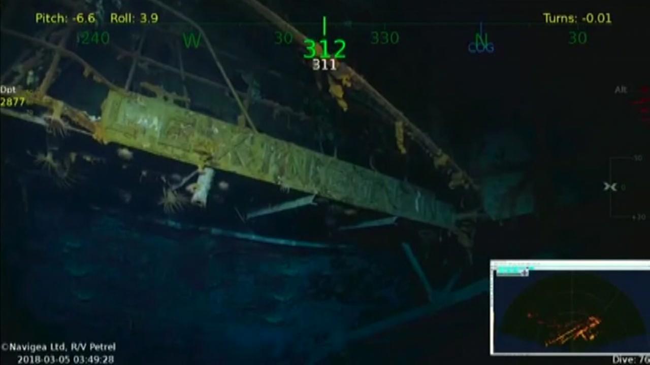 USS Lexington discovered off of Australian coastline