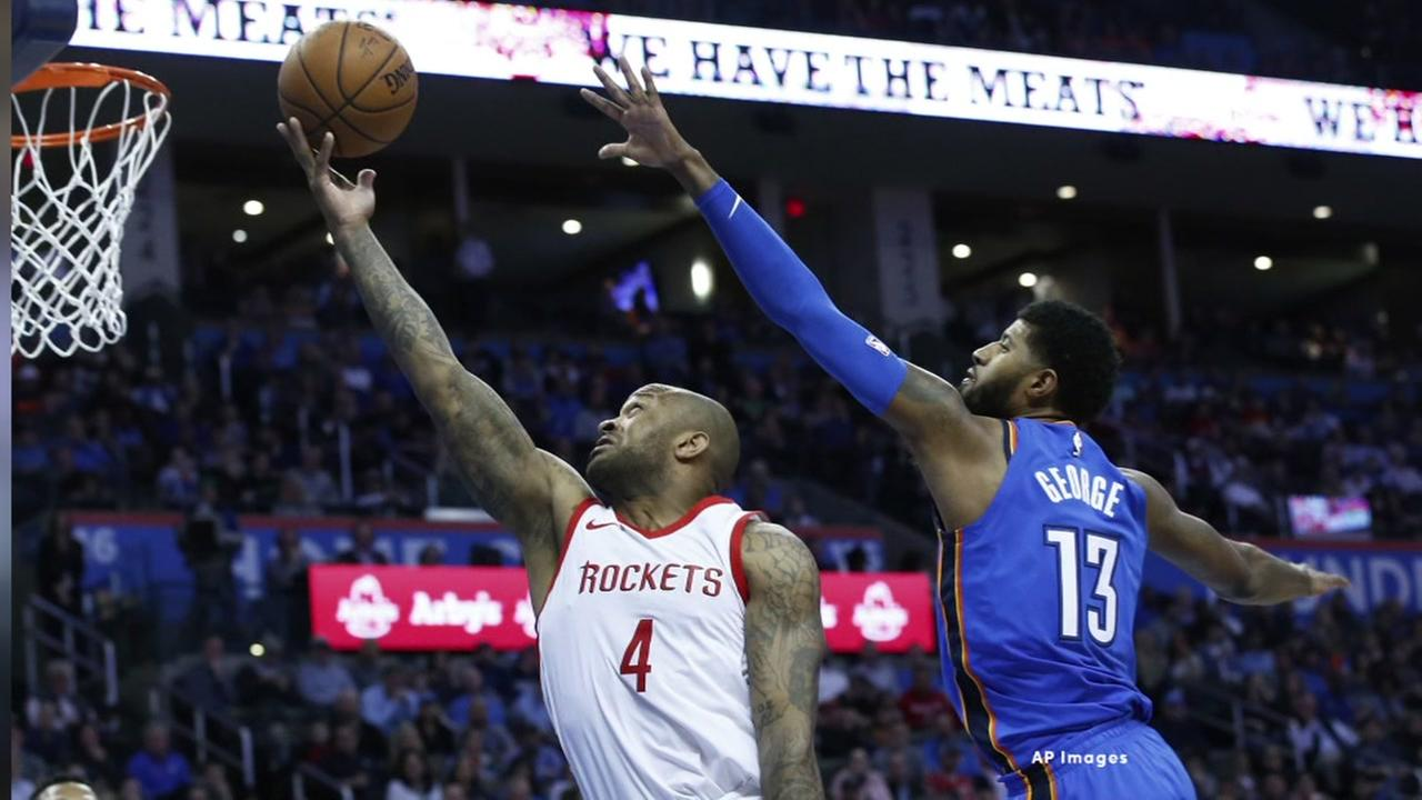 Rockets beat OKC with 16th win in a row