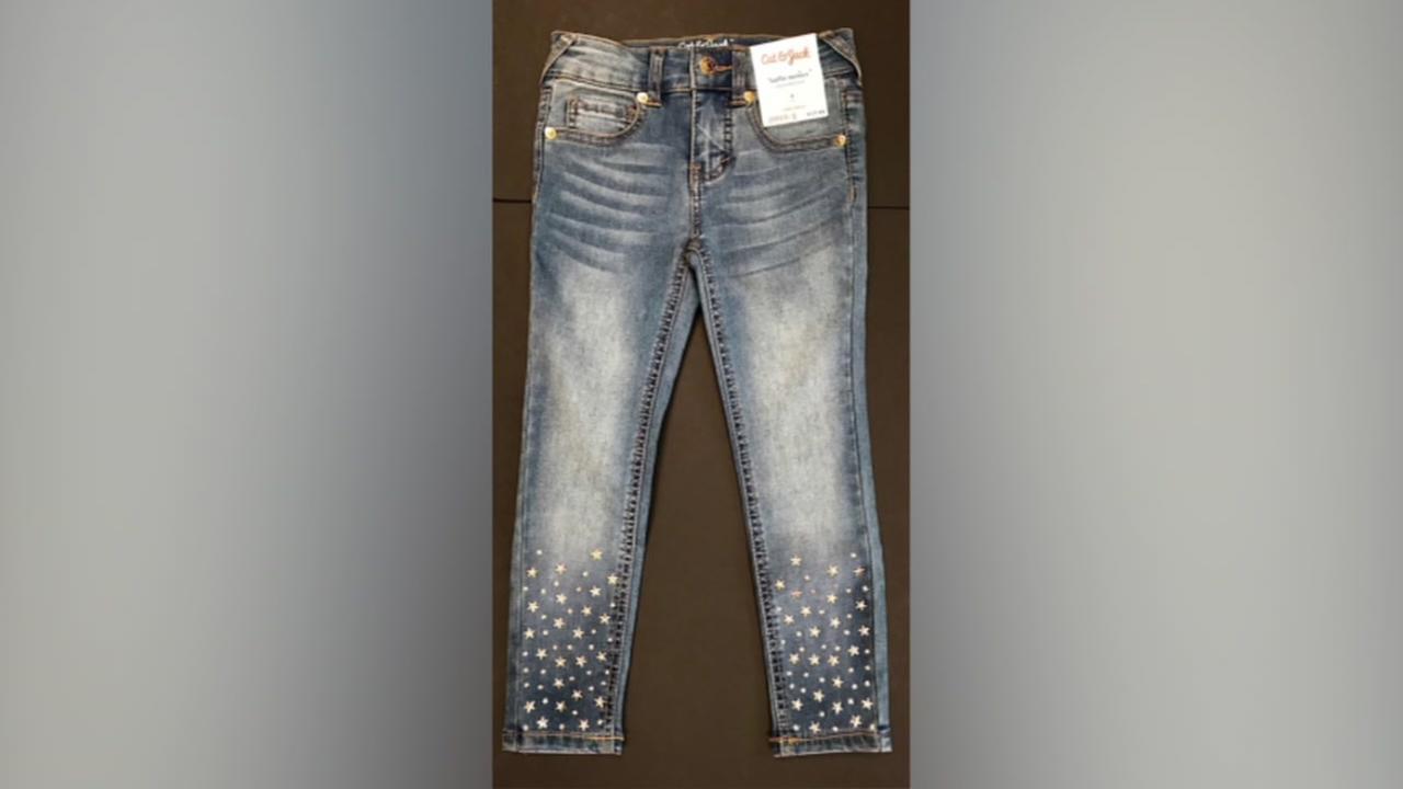 Target recalls girls skinny jeans