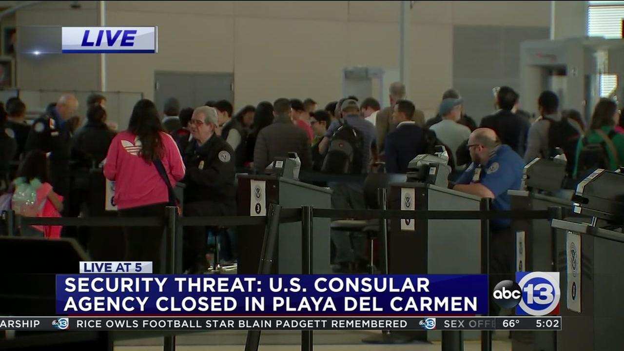 ABC13s Marla Carters latest on Security threat in MX