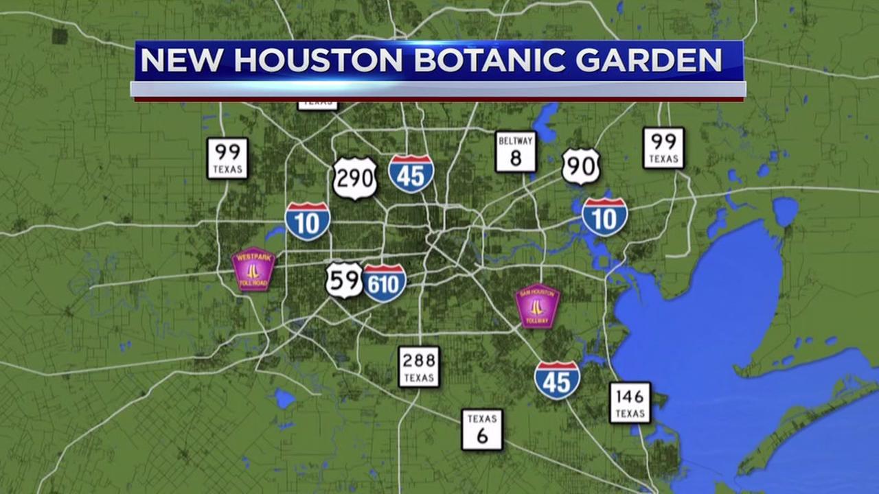 Botanic Garden coming to Houston