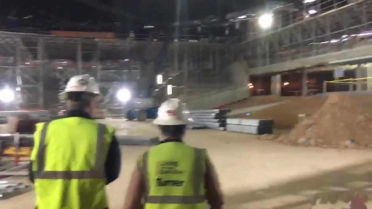 UofH Fertitta Center tour