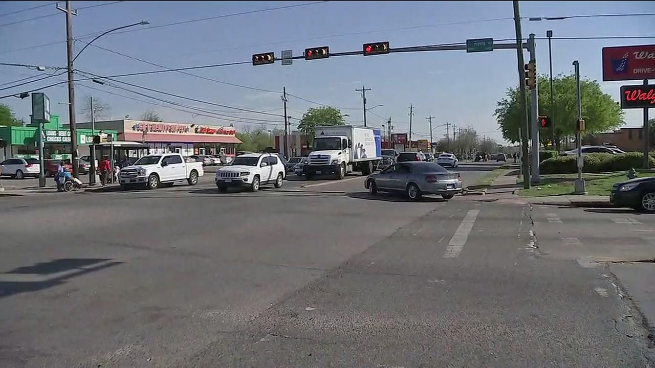 Child seriously injured in accident after man runs red light