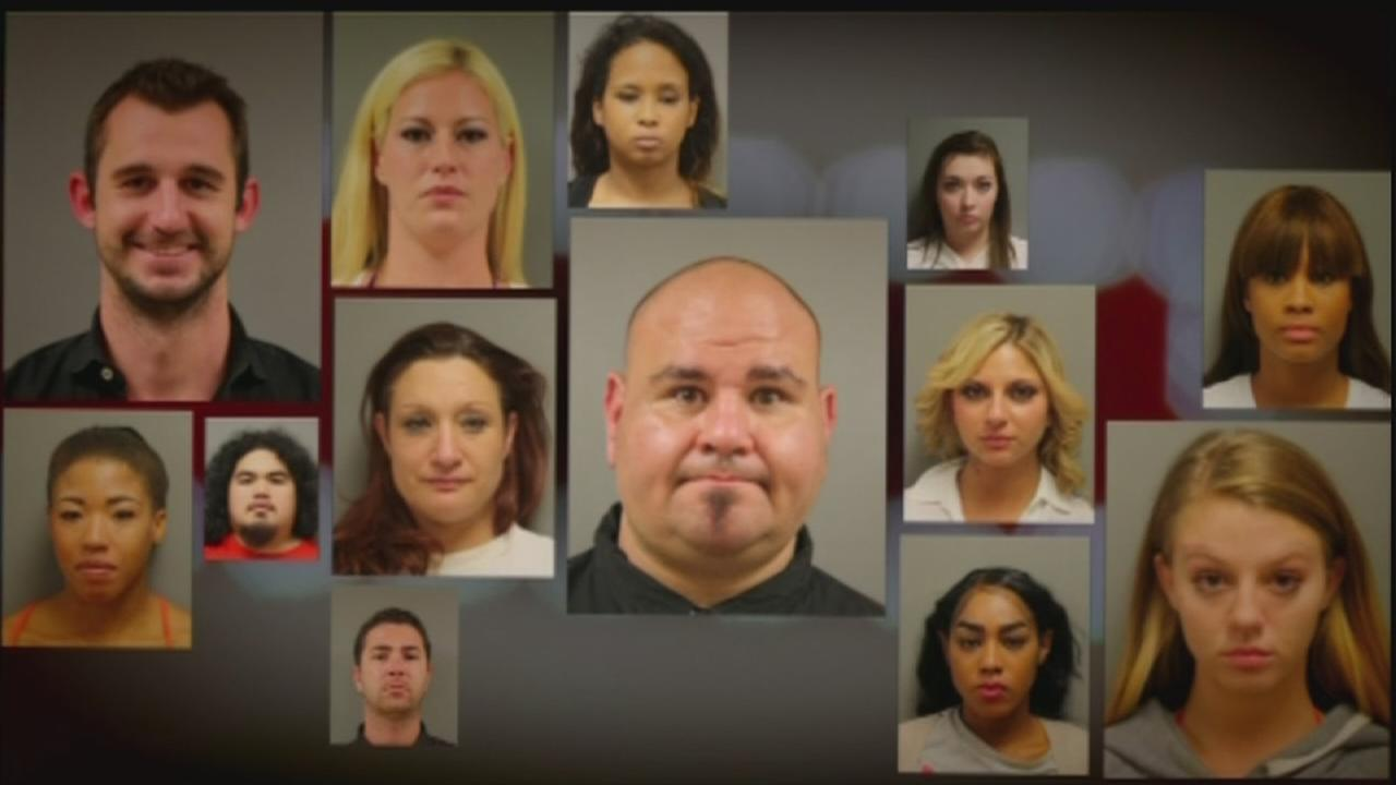 NW Harris Co. strip club sting nets 14 arrests