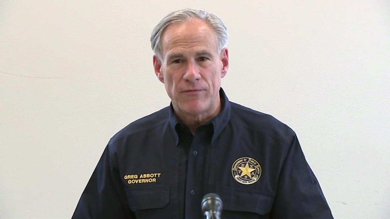 Governor Abbott makes visit to Kingwood area