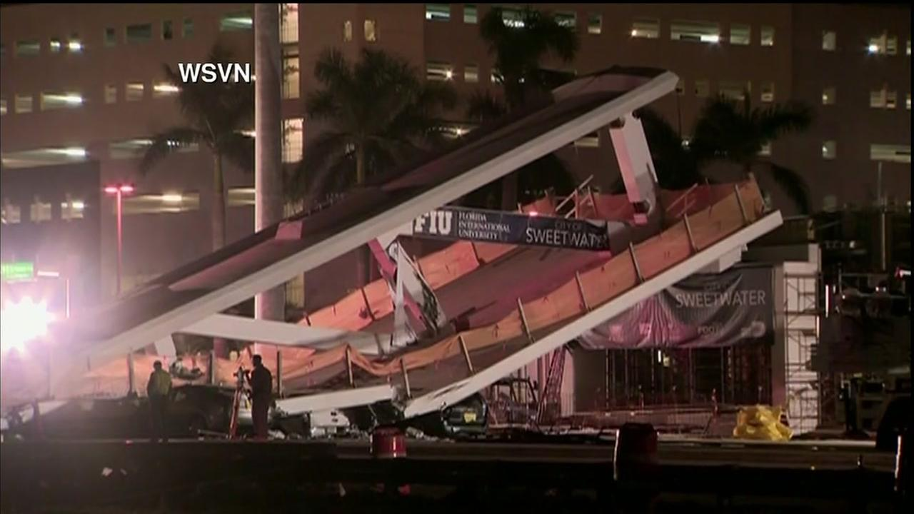 4 dead in FIU bridge collapse in Miami