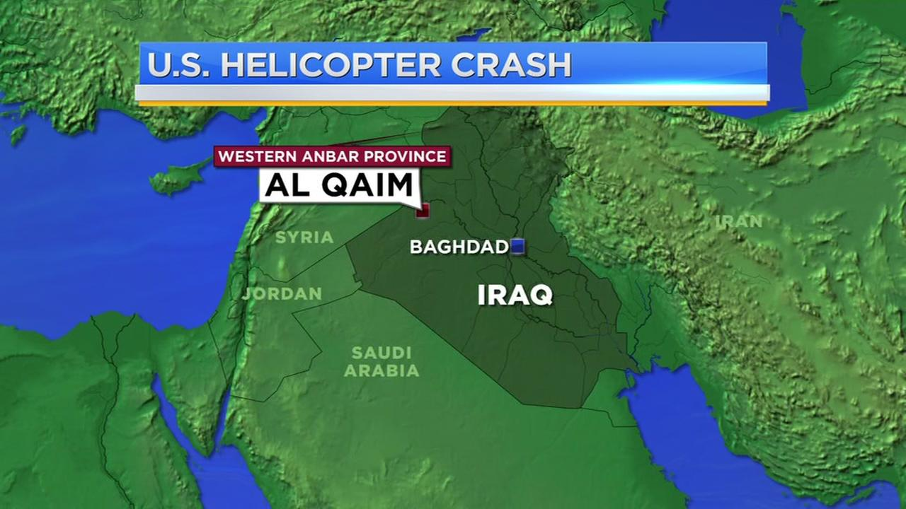 U.S. Helicopter Crash in Iraq