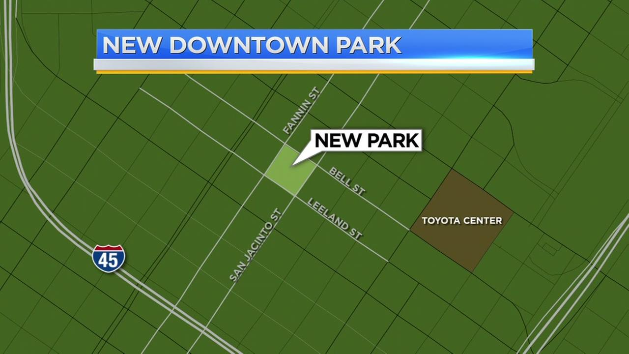 New park coming to downtown Houston