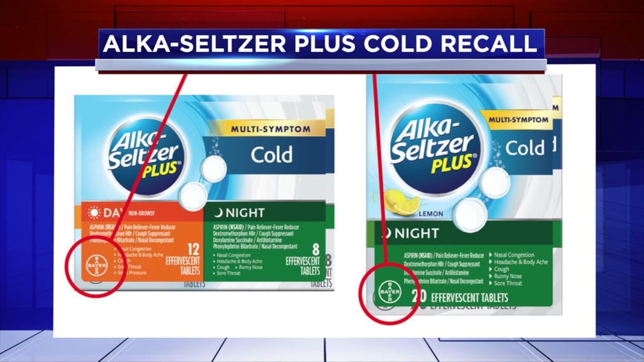alka-seltzer recall