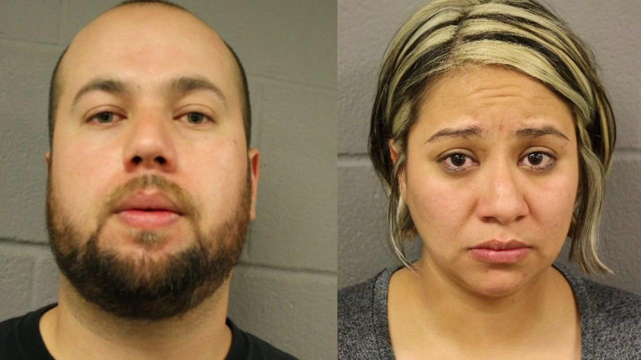 2 arrested after leaving 4-year-old inside vehicle