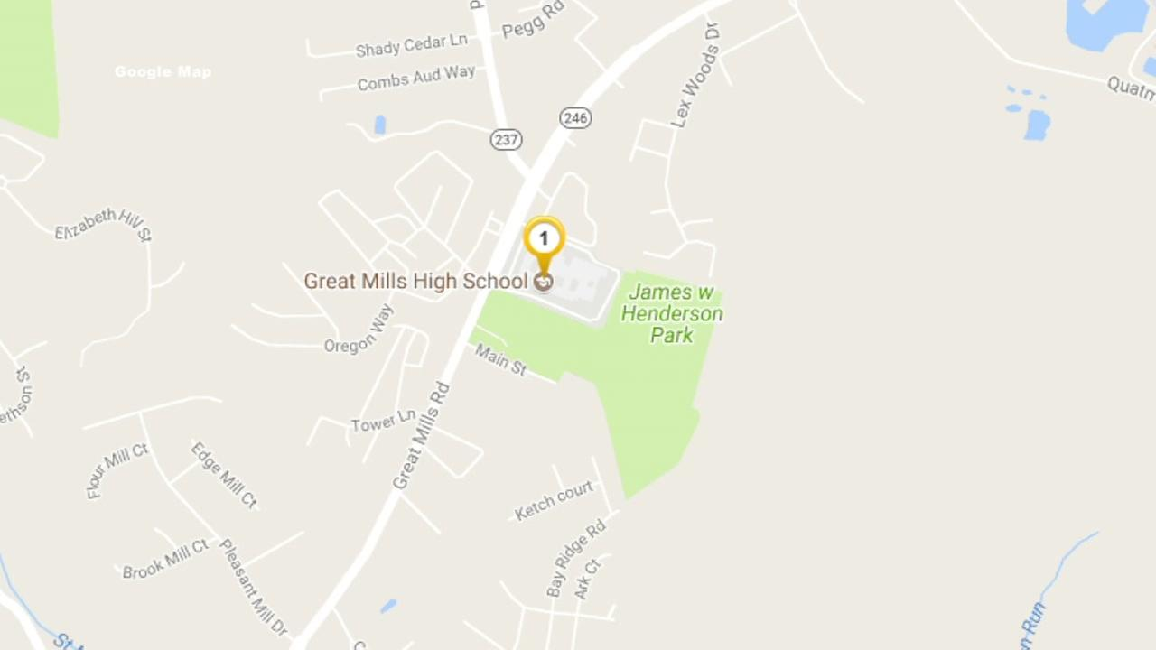 Shooting reported at Great Mills HS in Maryland