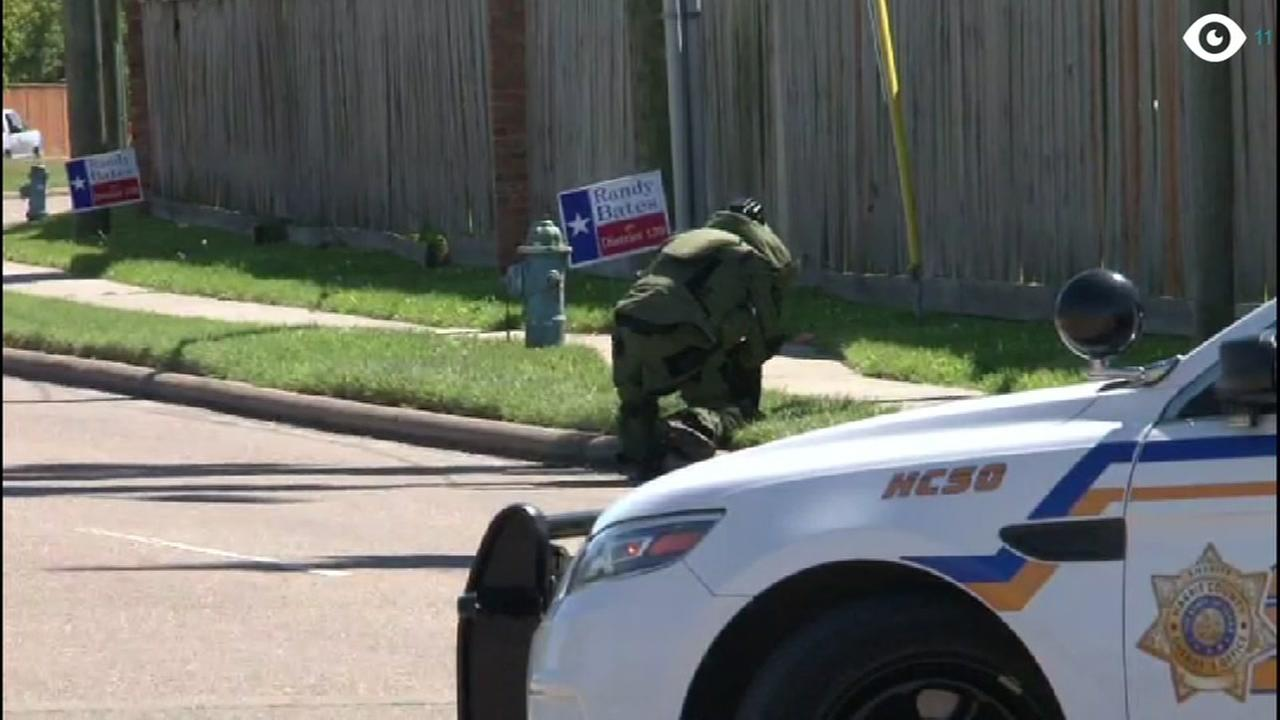Suspicious package found at Thompson Elementary School