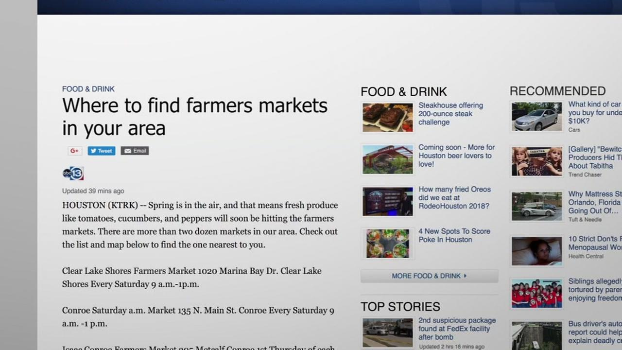 how to find local farmers