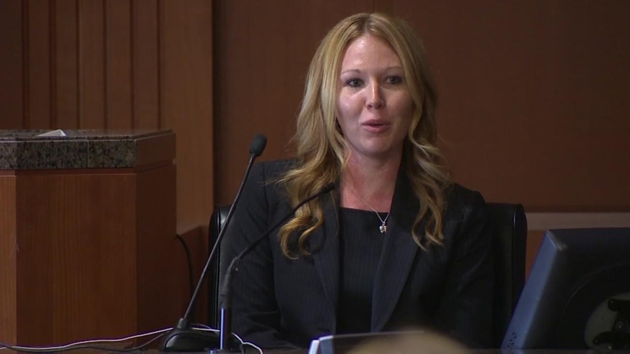 Ex-girlfriend testifies in case
