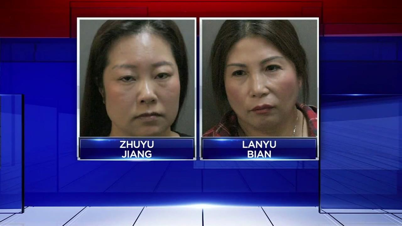 Two women charged after prostitution bust at spa in north Harris Co.