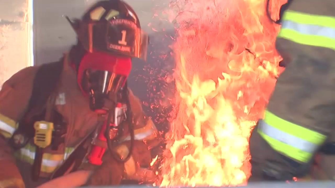 Volunteers step up to face the heat and save lives as Deer Park firefighters